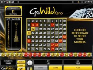 GoWild Keno