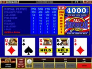 Go Wild Video de Poker