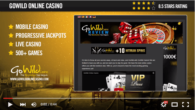 GoWild Casino Video