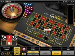 GoWild Casino Ruletti
