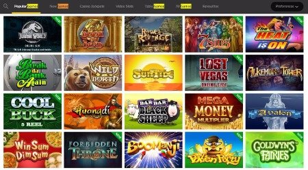 Go Wild Casino Pokies popular