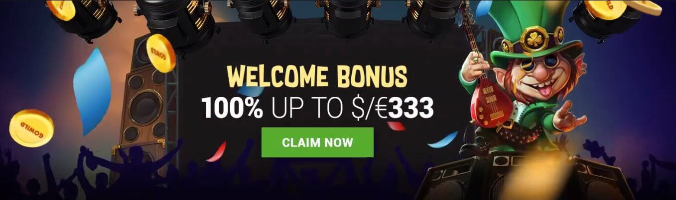 Gowild casino welcome bonus 2018-2019